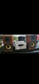 Panasonic midi system with speakers