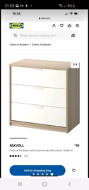 Ikea askvoll chest of drawers