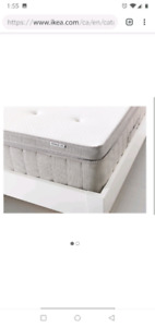 King latex mattress topper