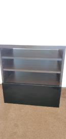 Tv cabinet storage door