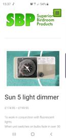 Sun light dimmer