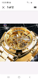 High quality forsining jaragar new in. Date time week month mechanical