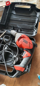 Black and Decker corded drill 730w in full working order