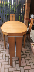 Dinner Table and chairs Nathan Extendable Teak