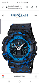 G shock splash watch
