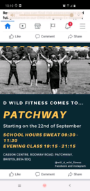 Patchway exercise class