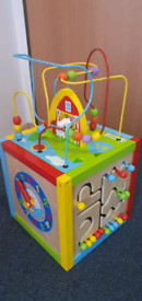 Activity cube wooden, collection from SW9 9HN