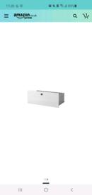 Ikea BORGSJO - Drawer, white - 74x29 cm
