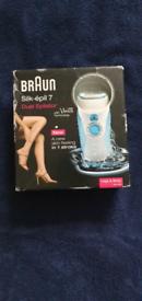 Braun Silk Epil 7 Legs and Body Dual Epilator - Brand new sealed and b