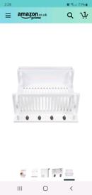 White Kitchen Plate Rack