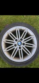 """BMW 17"""" alloy wheels msport"""