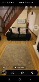 Designer (Linda Barker) larg 3 seater sofer and a 2 seat sofa sale
