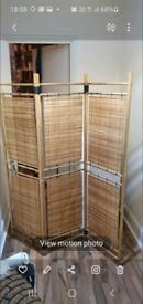 Long bamboo room dividers