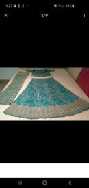 Blue bridal/walima lengha £80!