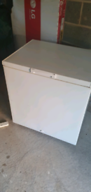 White chest freezer _ free delivery