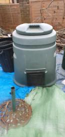 Compos Bin & Rainwater Barrel
