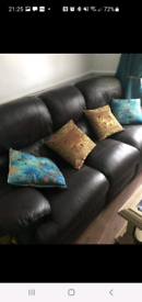 Brown 3 seater for sale