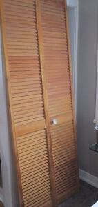 Louver Bifold Closet Door