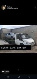 SCRAP CARS VAN MOT FAILURES NON RUNNERS TRY US