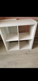 White Cube Shelving Unit
