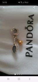Pandora new tennis 🎾 racket and ball charm