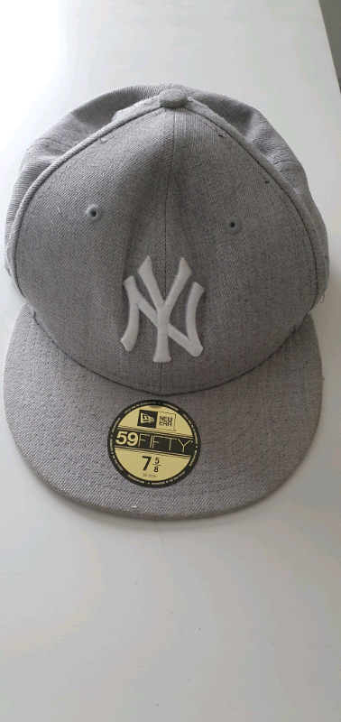 9b08a6acddfba Real 59FIFTY New Era Grey Baseball Hat 7 5/8 | in Carnforth ...