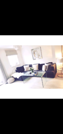Grey L shape sofa