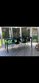 CIACCI KREATY ITALIAN DESIGNER HIGH END TABLE AND CHAIRS
