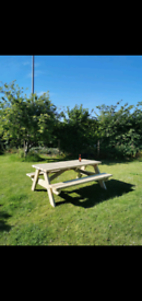 Picnic bench heavy duty pub style 5 6 & 8ft tables