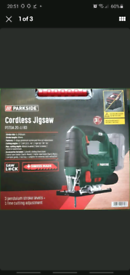 Parkside 20V Cordless Jigsaw with Carry Case Brand new