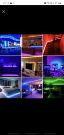 LED Strip Lights USB 5/3 meters RGB Color 5050 Light TV Lighting mood