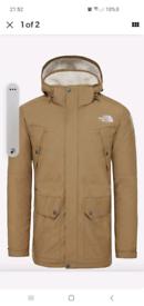The north face coat jacket parka xxl