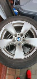 "5x120 17"" BMW alloy wheels e60 5 series"