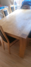 Dinning table with 6 chairs *BARGAIN*