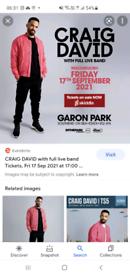 Craig david concert gaton Park Southend today