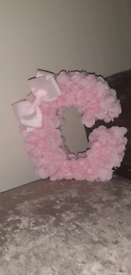 Rose letter c small
