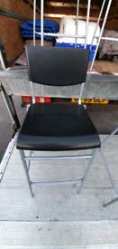 4x IKEA BARStuhl Thekenstuhl - stackable bar stool