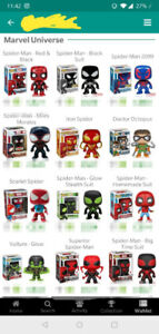 In Search Of (ISO) - Spider - Man Funko Pops