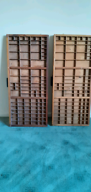 Old printers trays