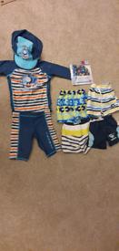 Boys 18 to 24 months swimwear