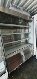 Slimline Commercial Multideck Drinks Food Display chiller fully workin