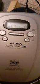 Alba compactndisc player