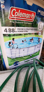 Coleman swimming pool 15 ft by 48 in