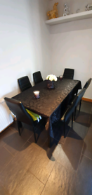 6 Seater Dining Table and Chair set.