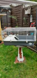 Indoor rabbit Guinea pig cage