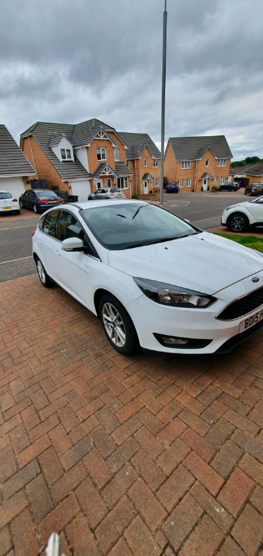 Cheapest In Uk Ford Focus 20 15 White 1 0t Ecoboostzetec 48500ms In Paisley Renfrewshire Gumtree