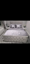 Hilton bed SALE IS NOW ON with Ortho Memory Mattress and Headboard