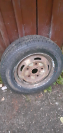 roadcruza 195/70r15c transit tyre and wheel