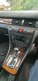 Audi a6 c5 or allroad Sat nav radio on sale Car Breaking 2.5 tdi autom