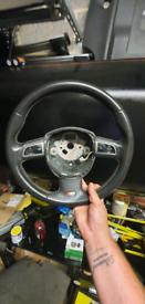Audi s4 steering wheel superb condition